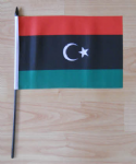 Libya Country Hand Flag - Medium.